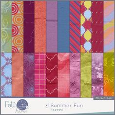 Digital scrapbooking kit PattyB Scraps SUMMER FUN papers http://www.godigitalscrapbooking.com/shop/index.php?main_page=product_dnld_info&cPath=29_335&products_id=24639#prettyPhoto