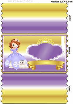 OLÁ AMIGAS!   Hoje temos mais uma princesa da Disney, a Princesa Sofia.   Sofia é uma menina que vai viver em um castelo quando a mãe casa c...
