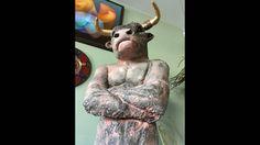 Minotaurus - obrovská socha do záhrady v galérii Magis Art Bratislava Bratislava, Art For Sale, Lion Sculpture, Statue, Fictional Characters, Fantasy Characters, Sculptures, Sculpture
