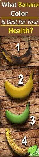You Should Know What Banana, Color Is Best For Your Health - Modern Health Tips For Women, Health And Fitness Tips, Health Advice, For Your Health, Health Diet, Health Care, Healthy Drinks, Healthy Tips, How To Stay Healthy