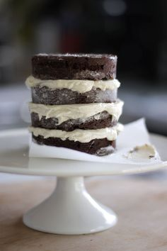 Chocolate Cake with Vanilla Bean Buttercream