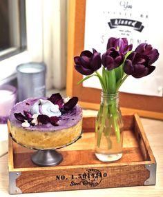 Черничный чизкейк - Вкусный блог Оли Лукьянцевой