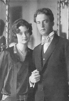 Princess Astrid of Sweden on her engagement day with prince Leopold III of Belgium on 21 Sep 1926