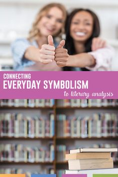 Symbolism is an important part of literary analysis. Connect ideas to prior knowledge to help students. English Classroom, Art Classroom, Learning Activities, Teaching Resources, Middle School English, Teaching Language Arts, High School Students, English Language, Short Stories