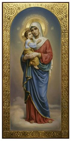 """douayrheims: """" (via Little Office of the Blessed Virgin Mary: The Mother Of Christ by Father Vassall-Phillips Part """" Mother Of Christ, Blessed Mother Mary, Divine Mother, Blessed Virgin Mary, Religious Pictures, Religious Icons, Religious Art, Madonna Und Kind, Madonna And Child"""