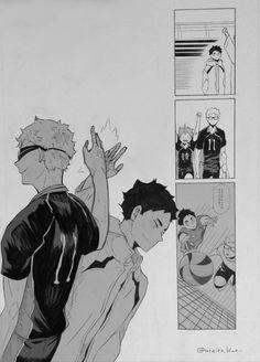 Haikyuu Funny, Haikyuu Fanart, Haikyuu Anime, Haikyuu Wallpaper, Cute Anime Wallpaper, Haikyuu Characters, Anime Characters, Manga Art, Manga Anime