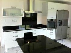 Cozinha em Granito Escuro 1 - www.mogranitos.pt