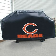 Pin It! :) Click Image Twice for Pricing and Info :) #patio #griller #covers #outdoorgrill #cover #patiocovers #patiogrillcover #outdoor #nfl SEE MORE NFL team grill cover at http://zpatiofurniture.com/category/patio-furniture-categories/patio-furniture-covers/patio-bbq-grill-covers/nfl-team-grill-covers/ - BSS – Chicago Bears NFL Economy Barbeque Grill Cover « zPatioFurniture.com