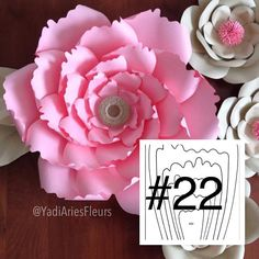 YAF templates are your master copy templates to help you make your paper flowers and are mailed to your home. They are made of a beautiful pearl shimmer heavy cardstock. Create as many paper flowers as you want for your next event. You can make flowers in all sizes. Use standard