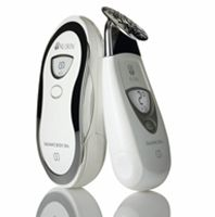 """The Galvanic Face and Body Spa! Nu Skin is the """"Apple"""" of the anti-aging industry. Plus they just acquired LifeGen Technologies: so they own all current and future genetic data on aging. Nu Skin, Galvanic Body Spa, Ageloc Galvanic Spa, Health And Wellness, Health And Beauty, Beauty And The Best, Anti Aging Treatments, Spa Treatments, Skin Care Tools"""