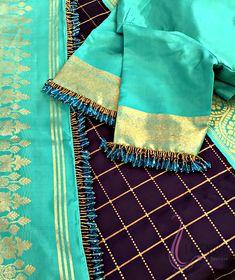 Nakshathra Nagesh in Sajna custom made lehenga. Makeup by Preethi Artistry. Jewellery by Studio Viya. Photography by Shadows Photographyy. Saree Tassels Designs, Saree Kuchu Designs, Saree Blouse Neck Designs, Saree Blouse Patterns, Kurti Neck Designs, Fancy Blouse Designs, Bridal Blouse Designs, Traditional Blouse Designs, Cotton Saree Blouse