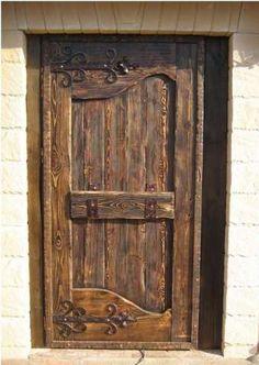 Buy door antique prestige and pine Wooden Gates, Wooden Doors, Entrance Gates, Entry Doors, Tudor Decor, Wooden Door Design, Cool Doors, Vintage Doors, Ideias Diy