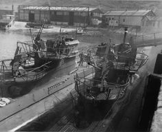 U-boat Archive - U-249 (inboard)