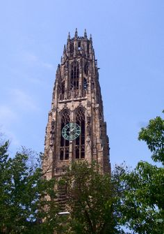 Harkness Tower is a prominent Collegiate Gothic structure at Yale University in New Haven, Connecticut, United States.
