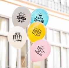 Ballonnen voor verjaardagen (10 stuks)