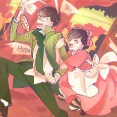 Osomatsu-san- Choromatsu and Todomatsu #Anime「♡」Wonderland