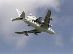 Endeavour and Shuttle Carrier
