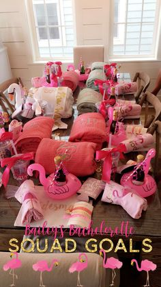 Let's flamingle! #bachelorette #letsflamingle #thefinalstrut #flamingos