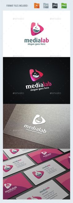 Media Lab  - Logo Design Template Vector #logotype Download it here: http://graphicriver.net/item/media-lab-logo-template/15217039?s_rank=1565?ref=nesto