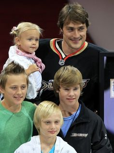 Teemu Selanne and his kids Ayrton Plays against Eetu and Emil the two oldest. They play for Rancho Santa Margarita,
