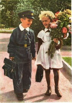 Gallery.ru / Фото #12 - Здравствуй, школа! Старые советские открытки. - Anneta2012