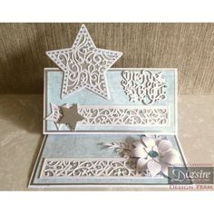 Die'sire Create a Card Cut In Die Shine Bright