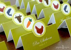 Such a good idea! Use your escort cards to mark guests' meal choices.