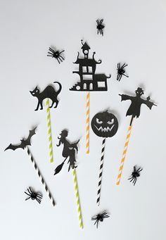 DIY: Halloween shadow puppets (with free template!) by Alice & Lois for Julep