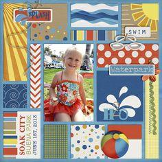 Kassie Scraps: Splash Zone Cards by Dream Big Designs