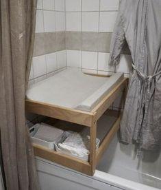 Die 15 besten Bilder von wickeltisch badewanne | Wickeltisch ...