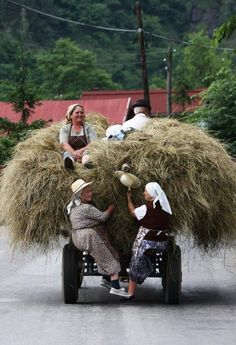 Romanian Rural LIfe. Much of Romania is still unspoiled and uncommercialised and all the more beautiful and wonderful for that