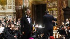 Andrea Bocelli koncertje Budapesten