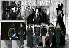 Fashion trends for 2013 from Brown Thomas - Saint Laurent Paris