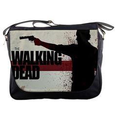 The Walking Dead Custom Messenger Bag School Netbook Laptop For