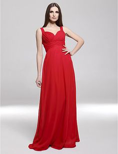 POMPANO BEACH - Vestido de Noche de Gasa – USD $ 39.99