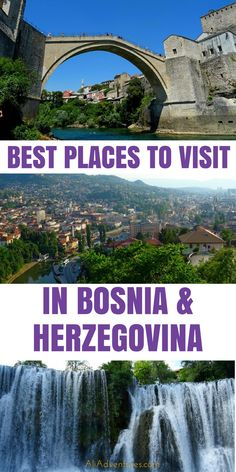 Here's how to spend 10 days in Bosnia & Herzegovina, including things to do in Sarajevo and Mostar, the best places to visit in Bosnia, and why you should visit Jajce. I loved my time in Bosnia, and I highly recommend planning a trip to this beautiful country. #bosnia #sarajevo #mostar #jajce #traveltips