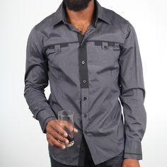 Fab.com   Detail Shirt Navy