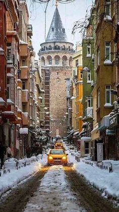 Visit #Istanbul in the #winter & see the beauty of the city in the colder months.