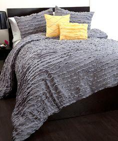 Gray Modern Chic Comforter Set
