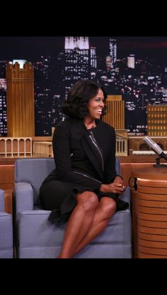 First Lady of The United States  of America Michelle Obama making her final visit as the nation's First Lady to The Tonight Show with Jimmy Fallon on Wednesday, January11th 2017