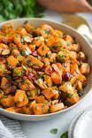 Get The Best Sweet Potato Potato Salad Recipe from Food Network Classic Potato Salad, Potato Salad With Egg, Easy Potato Salad, Potato Soup, Bbc Good Food Recipes, Easy Salad Recipes, Amazing Recipes, Bread Recipes, Sweet Salad Recipe