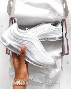 c9d00f4611aa  85 Nike Air Max 97 CR7 Triple White White Sneakers Nike