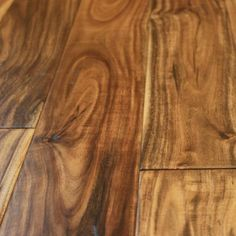 Acacia Natural x Hand Scraped Small Leaf Engineered Hardwood Flooring