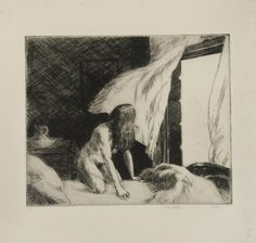 Evening Wind by Edward Hopper #hooper #painter
