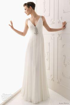 alma novia 2012 wedding dresses - Saloman✨
