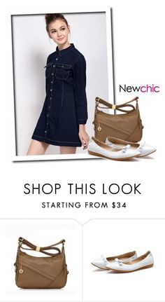 """""""NewChic Style #38"""" by tawnee-tnt ❤ liked on Polyvore featuring Myston"""
