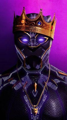 Wakanda King, Black Panther graphic.
