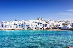 Greek fishing village Naousa, Paros island , Greece