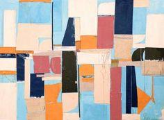 "Saatchi Art Artist Susan Washington; Collage, ""Miami to Ibiza"" #art"