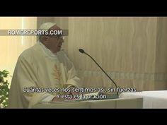 Papa en Santa Marta: El mismo Señor nos enseña a rezar en los momentos más feos - ROME REPORTS